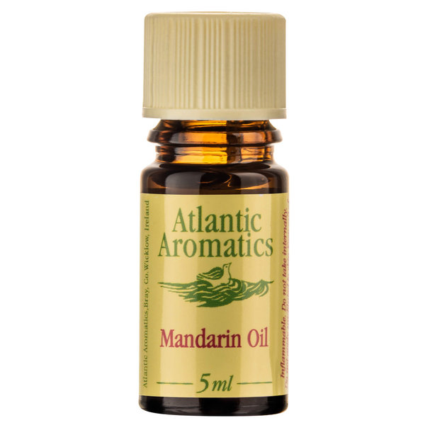 Atlantic Aromatics, Mandarine, Bio, 5ml, Mandarin Oil